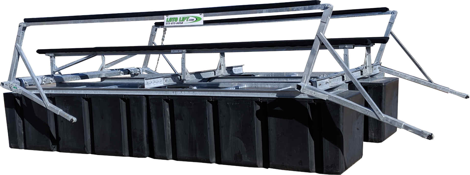 LOTO Lift's strongest boat lift designed for rough water.