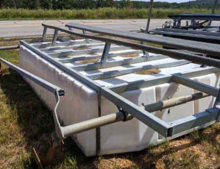 6500 lb used Econolift boat lift for sale