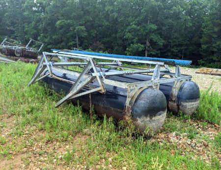8,000 lb used Hydrohoist